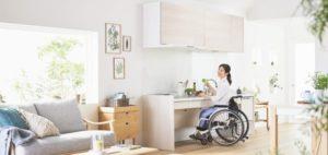 車椅子対応キッチン